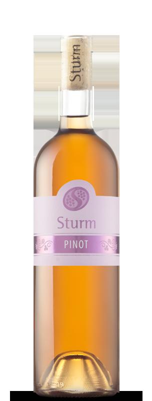 Šturm - pinot rose - bela kolekcija 0.75 l