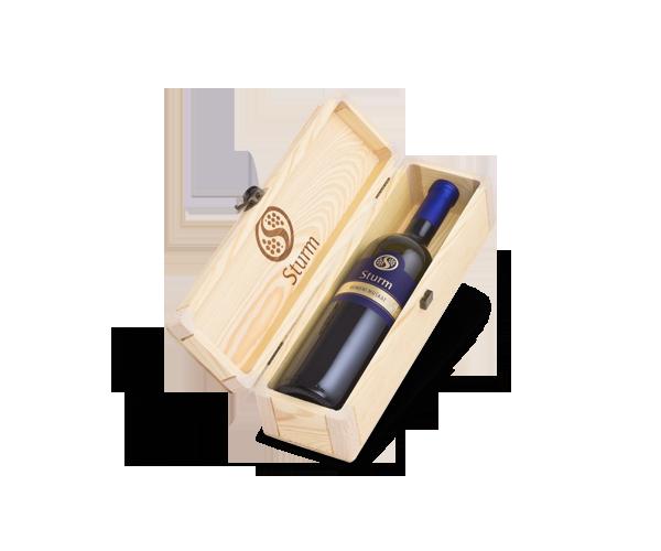 Vina Šturm - lesena embalaža za vino 1 x 1.5L