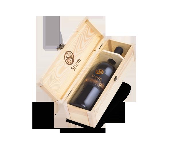 Vina Šturm - lesena embalaža za vino 1 x 1.5L - magnum