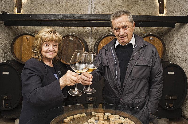 Jožica in Otmar Šturm starejši - vina Šturm